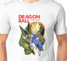 DRAGON BALL Z COVER - VEGETA VS CELL  Unisex T-Shirt