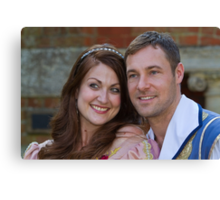 Sophia Thierens and Marc Baylis in Sleeping Beauty Canvas Print
