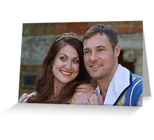 Sophia Thierens and Marc Baylis in Sleeping Beauty Greeting Card