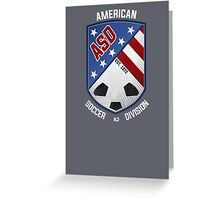 American Soccer Division, est. 1972 Greeting Card
