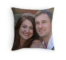 Sophia Thierens and Marc Baylis in Sleeping Beauty Throw Pillow