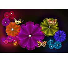 Flower Wonderland Photographic Print