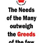 Need of the Many by Colin Bentham