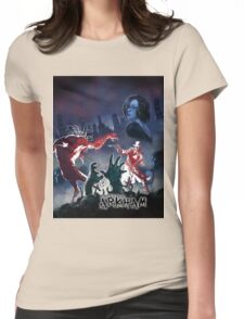 CASEFILE ARKHAM 1 Womens Fitted T-Shirt