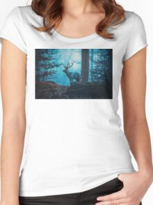 Blue Forest Women's Fitted Scoop T-Shirt