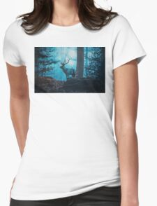Blue Forest Womens Fitted T-Shirt
