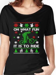 Bicycle Oh What Fun It Is To Ride Women's Relaxed Fit T-Shirt