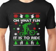 Bicycle Oh What Fun It Is To Ride Unisex T-Shirt