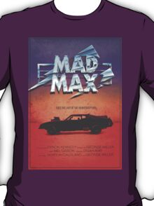 The Last of the V8's - Vintage Custom Mad Max Poster  T-Shirt