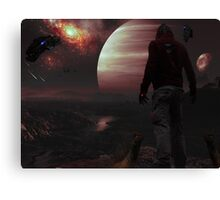 Thermographic Components Canvas Print