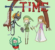 Zelda Time by Nothisispatrick
