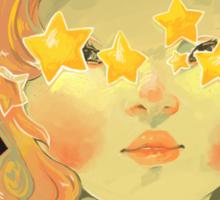 Star Girl Sticker