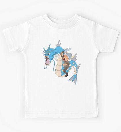 Gyarados pokemon Kids Tee