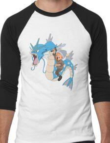 Gyarados pokemon Men's Baseball ¾ T-Shirt