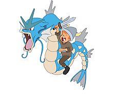 Gyarados pokemon Photographic Print