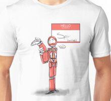 Hello my name is Spy Unisex T-Shirt