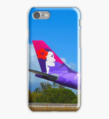 Hawaiian A330-200 Tail iPhone Case/Skin