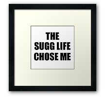 SUGG life Framed Print