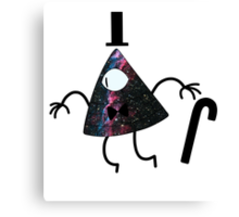 Bill Cipher (Space) Canvas Print