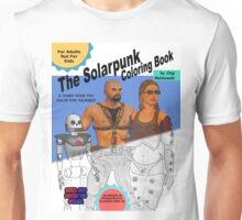 SolarPunk Coloring Book - Front Cover Unisex T-Shirt