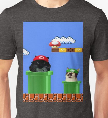 warp pipe cat Unisex T-Shirt