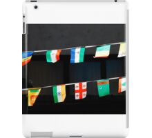 Strings of National Flags iPad Case/Skin