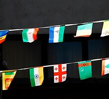 Strings of National Flags by jojobob