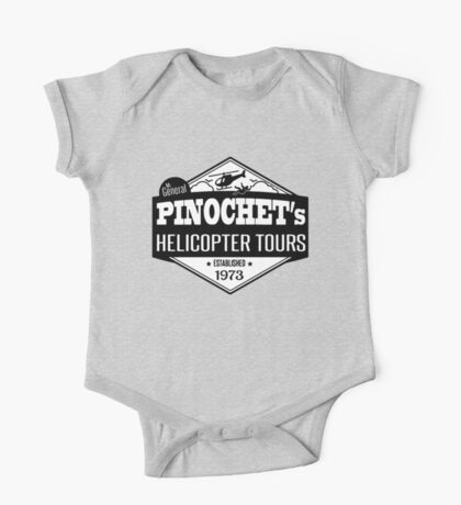 Pinochet's Helicopter Tours One Piece - Short Sleeve