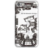 Sherlock Floorplan iPhone Case/Skin