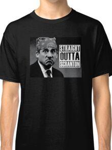 Prison Mike Straight Outta Scranton Classic T-Shirt