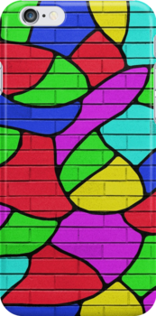Wonder Wall-iPhone Case by Carlos Phillips