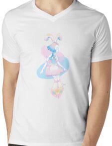 SpringTime Mens V-Neck T-Shirt