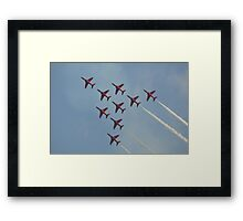 Apollo Formation   The Red Arrows Framed Print