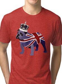 English Bulldog Tri-blend T-Shirt