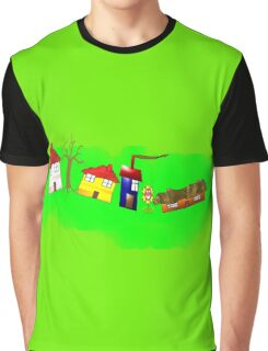 At Home in the Countryside Graphic T-Shirt