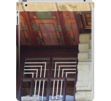 Painted Eaves, Gridded Windows, Frank Lloyd Wright iPad Case/Skin