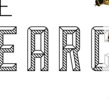 THE SEARCH Sticker