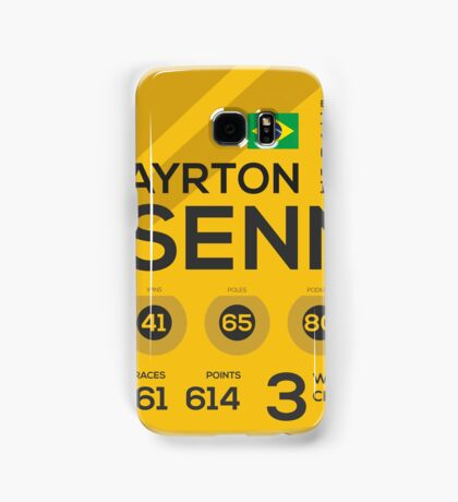 Ayrton Senna Samsung Galaxy Case/Skin