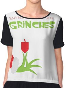 Drink cocktail funny christmas hoodies Chiffon Top