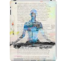 Lesson one, Concentration Yoga iPad Case/Skin