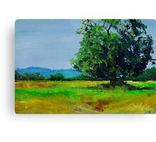 Feel The Heat - Devon Landscape Painting Canvas Print