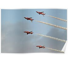 Mirror Formation   The Red Arrows Poster