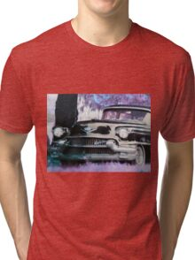 The Black Caddy  Tri-blend T-Shirt
