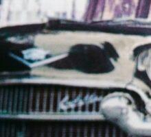 The Black Caddy  Sticker
