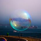 Bubble by the Bridge by Richard Mason