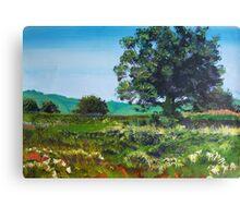 Devon Sun - Landscape Painting English Countryside Canvas Print