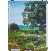 Devon Sun - Landscape Painting English Countryside iPad Case/Skin