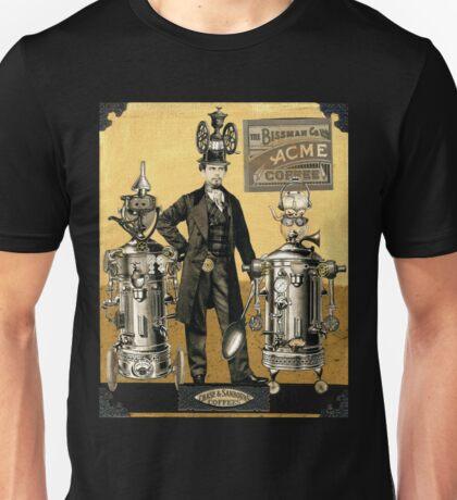 Mustapha's Espresso Robots Unisex T-Shirt