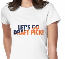 Let's Go Draft Pick! (CHI Split) Womens Fitted T-Shirt