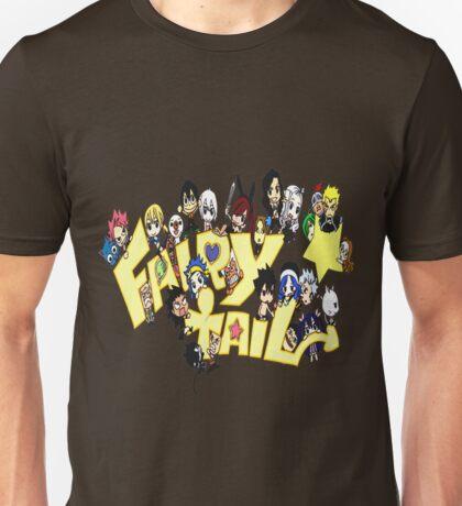 Fairy Tail Chibi Anime Unisex T-Shirt